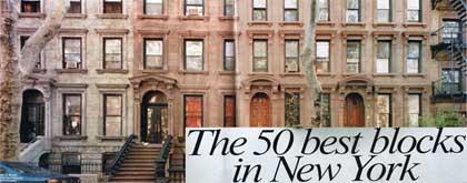 NYで最も住みたいブロック第16位に選ばれました!_f0009746_933117.jpg