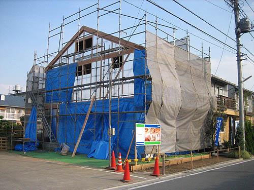 工事中! 新展示場 『成長する家~子育て物語~』_d0080906_12441486.jpg