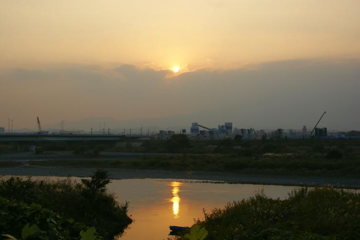 相模川の夕景_e0077521_804827.jpg