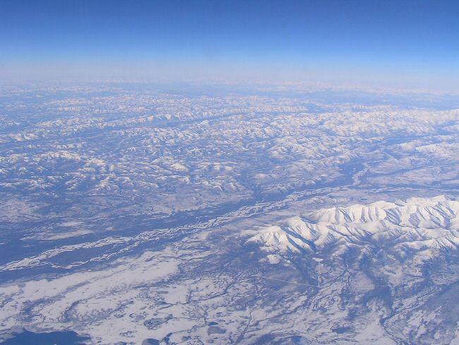 カナダ便り   飛行機の中から_a0027125_7585933.jpg