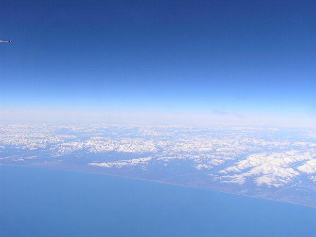 カナダ便り   飛行機の中から_a0027125_759336.jpg