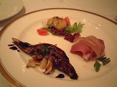 『トラットリア・コバ』の前菜