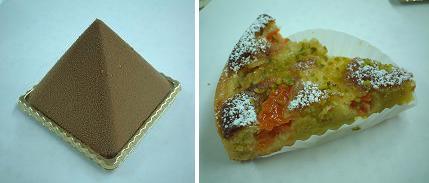 『オ・グルニエ・ドール』のケーキその1