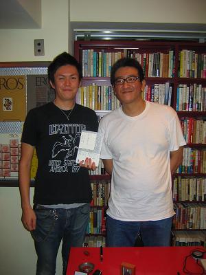 原田宗典 訳 『イノック・アーデン』朗読会 at Flying books _f0102075_8115114.jpg