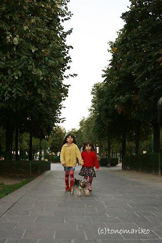 2人でたまには仲良くお散歩_c0024345_10304170.jpg