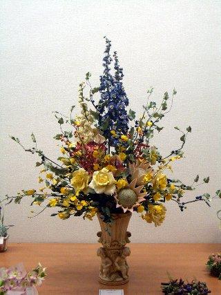 2006\' 花のフェスタ パンフラワー作品展 開催報告!!_d0079522_17455819.jpg