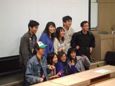 武蔵大学文化祭にて_d0004728_12433141.jpg