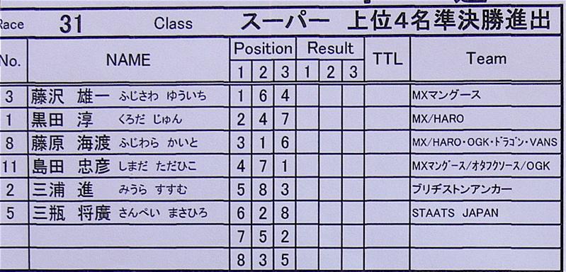 2006JBMXFジャパンシリーズファイナル VOL1 スーパークラス予選画像垂れ流し_b0065730_122189.jpg