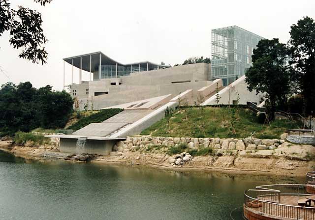 岡崎市美術博物館マインドスケープミュージアム : 建築図鑑 II