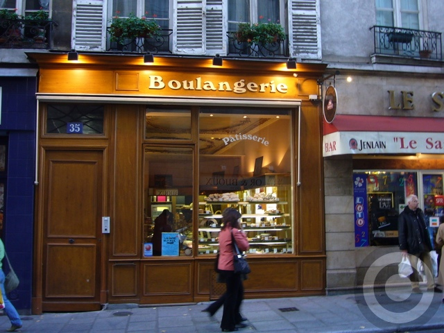 【サンルイ島】街角のパン屋(サンルイ島、PARIS)_a0014299_18201520.jpg