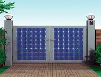 杉田エース、太陽光発電で門灯を光らせるエコタイプの門扉を発売 東京都墨田区_f0061306_1974.jpg