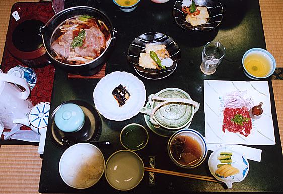 乗鞍の宿の夕食_c0067206_137089.jpg