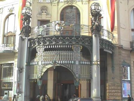 "プラハ市民会館  ""2003中欧_c0087349_4132575.jpg"
