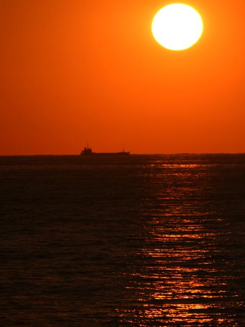 今日の「夕陽」_d0074828_2214018.jpg