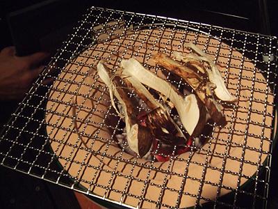 丹波産の松茸_c0052615_17185591.jpg