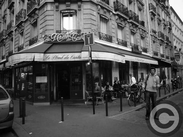 ■街角のキャフェLE PLOMB DU CANTAL(モンパルナス界隈)PARIS_a0014299_19351370.jpg