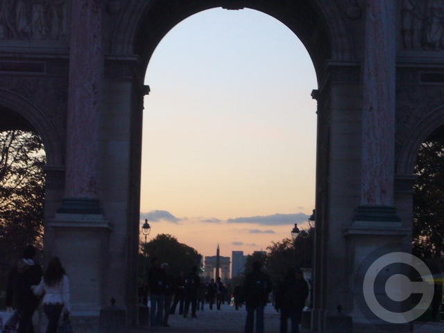 ■カルーゼル凱旋門Arc de Triomphe du Carrousel(パリ)_a0008105_0142797.jpg