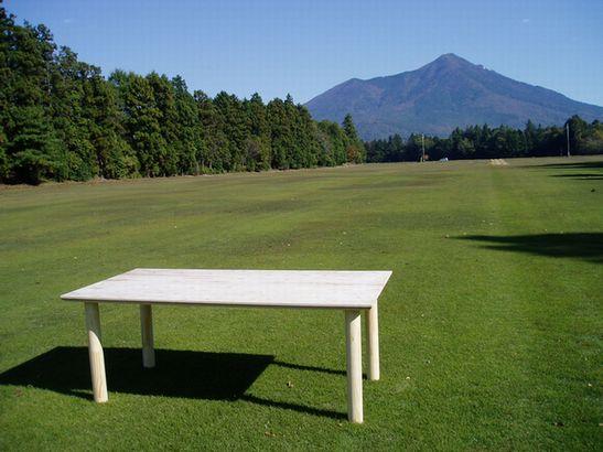 オリジナルダイニングテーブル「JS」デビュー_a0059217_1993913.jpg