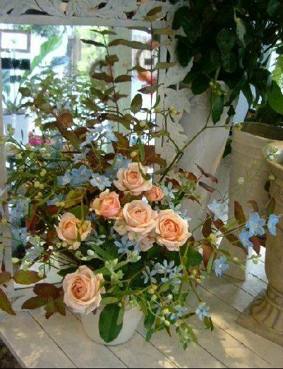 オークリーフ花の教室(森さんの作品)_f0049672_15395179.jpg