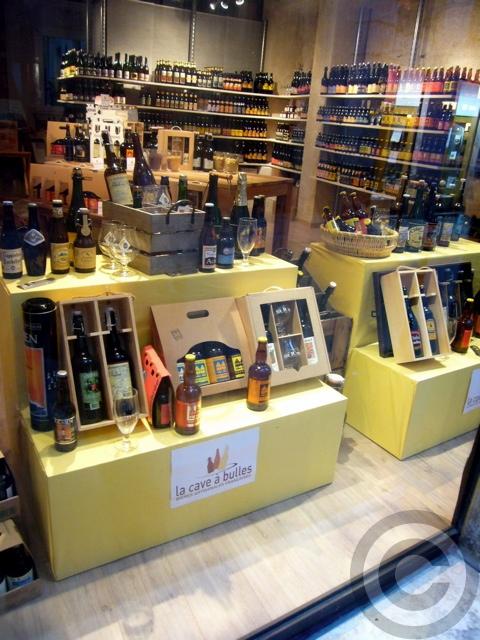 【La cave a bulles】【ビール】ビール専門販売店(パリ)_a0014299_206422.jpg