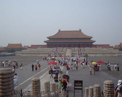 北京閑話 紫禁城はラストエンペラーの映画そのもの!_a0084343_1427535.jpg