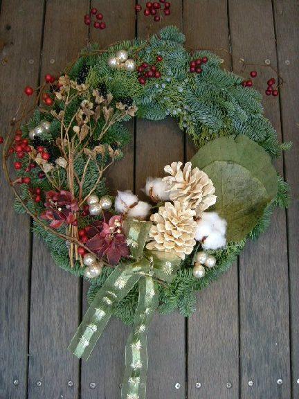 オークリーフ(クリスマスリースコレクション1)_f0049672_15263292.jpg