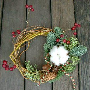 オークリーフ(クリスマスリースコレクション1)_f0049672_1528355.jpg