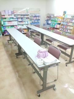 横須賀中央のタカヤマ薬局2階でカネボウ化粧品セミナー_d0092901_21594554.jpg