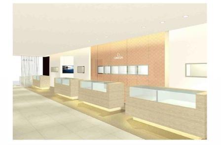 new concept b0aa2 d0f4a 国内最大のオメガの旗艦ストアが心斎橋にオープン : ブランド ...