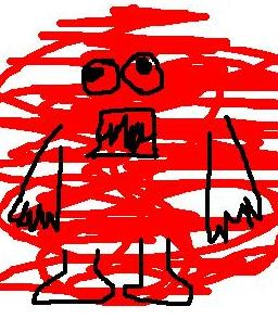赤いモップ。_f0115713_23492696.jpg