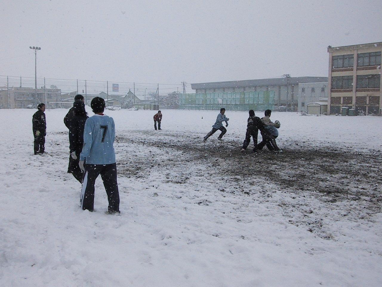 雪中練習_c0095835_12581146.jpg