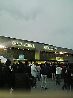 11/23 大阪・大阪城ホール_c0098756_20582913.jpg