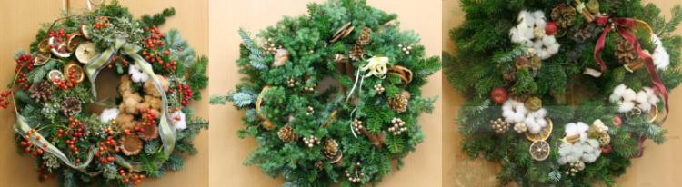 クリスマス もみのリース_a0042928_0415831.jpg
