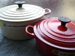 ル・クルーゼのお鍋たち。_c0005672_20452340.jpg