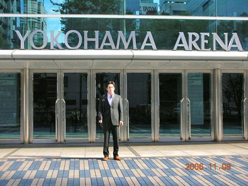 11月8日(水)横浜アリーナへ行きました。_c0090212_16371963.jpg