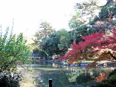 拾翠亭の庭