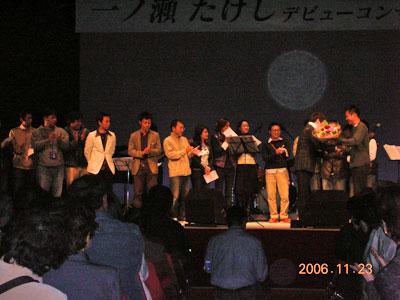 11月23日(木)CDデビューコンサートin山鹿市民会館_c0090212_16115361.jpg