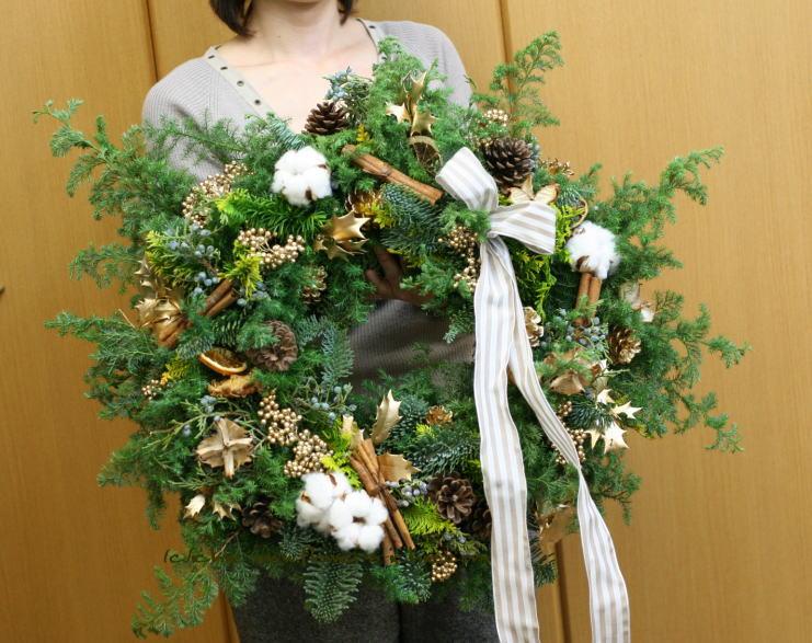 クリスマスリースとクリスマスツリー_a0042928_0273590.jpg