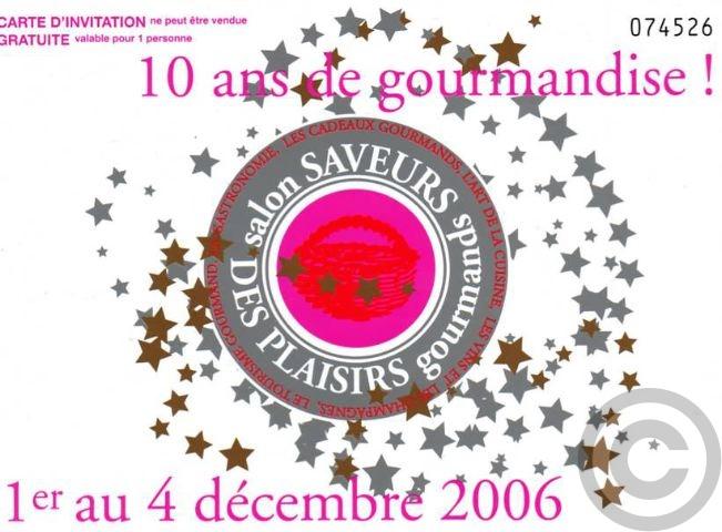 ■第17回Le salon Saveurs des Plaisirs Gourmands 2006 _a0014299_23135599.jpg