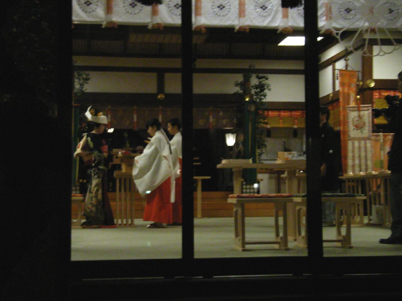 東京大神宮~夕暮れの挙式_d0091021_17481827.jpg