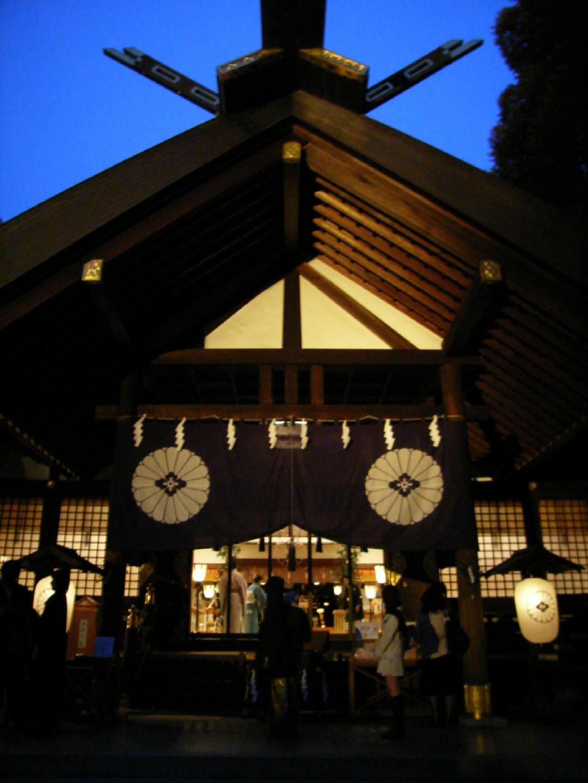 東京大神宮~夕暮れの挙式_d0091021_17494938.jpg