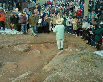 南大窯発掘調査、現地説明会_c0081499_12575872.jpg