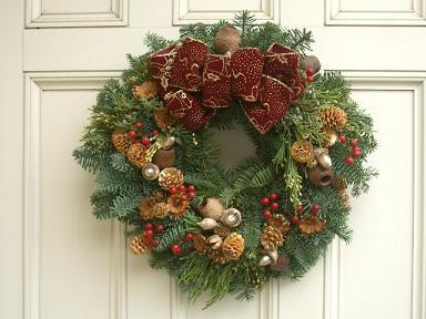 クリスマスリース_b0107003_2334379.jpg