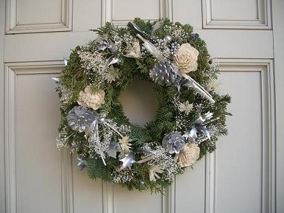 クリスマスリース_b0107003_23415598.jpg