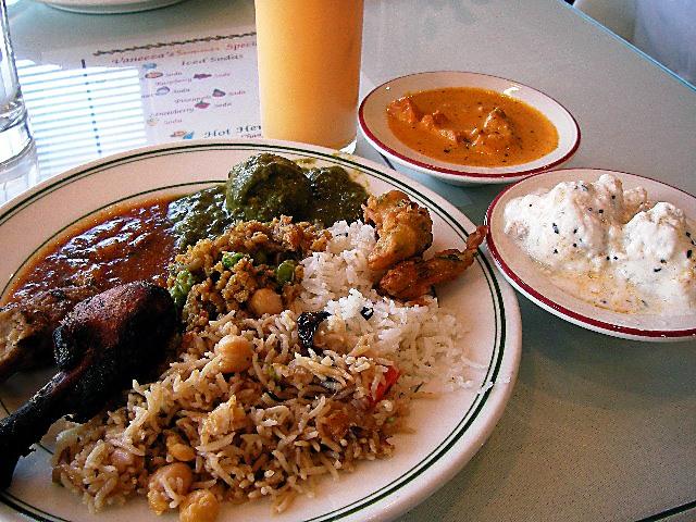 Kabab Palace のインド料理バイキング_e0061902_1451177.jpg