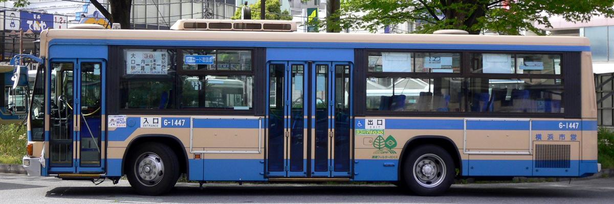 横浜市交通局 KC-LV380L : 研究所第二車庫