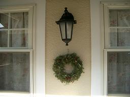 2つのクリスマスリース_c0079828_235858.jpg