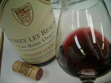 ●Chorey Les Beaune 'Les Bons Ores' 2004 Guyon_f0072767_21313643.jpg
