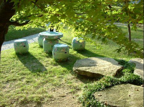 オークリーフ(宮島。対岸の、庭園の宿・石亭への旅)_f0049672_12223648.jpg