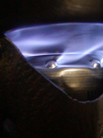 イボンヌ1号 / イボ付きアルコールストーブ  Yvonne-1 / Alcohol stove with wart _e0024555_1473770.jpg